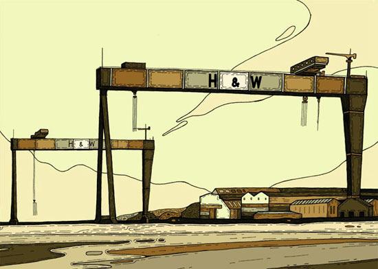 Краны Harland&Wolff